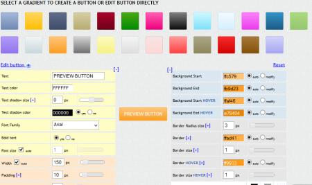css gradient button